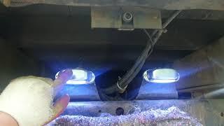 화물차 번호판등 LED등 24볼트 교체