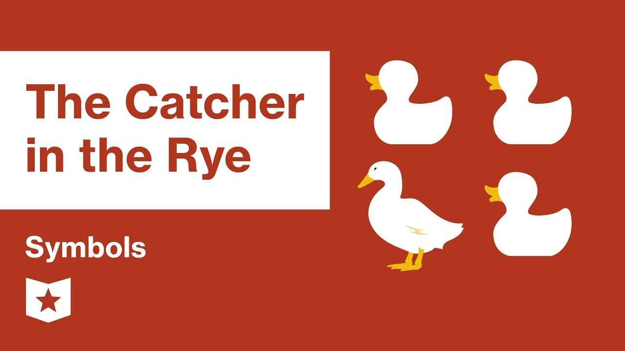 The Catcher In The Rye By Jd Salinger Symbols Youtube