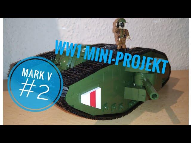 Aus Mark I mach Mark V - Cobi Tank Mark V Moc/Mod [Deutsch/German]