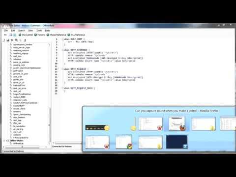 iRule Editor Offline Editing