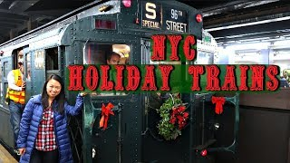 NYC Christmas & Holiday Nostalgia Train (Little Known Activity and SUPER FUN!)