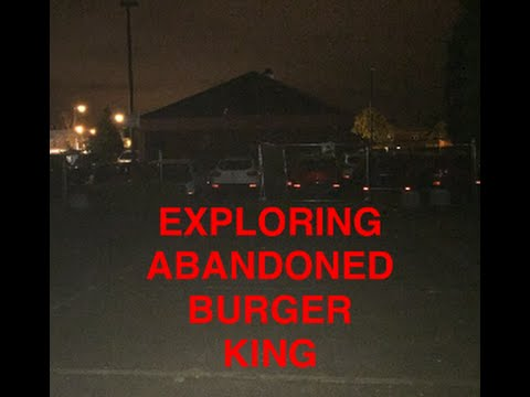 EXPLORING ABANDONED BURGER KING! (GONE WRONG)