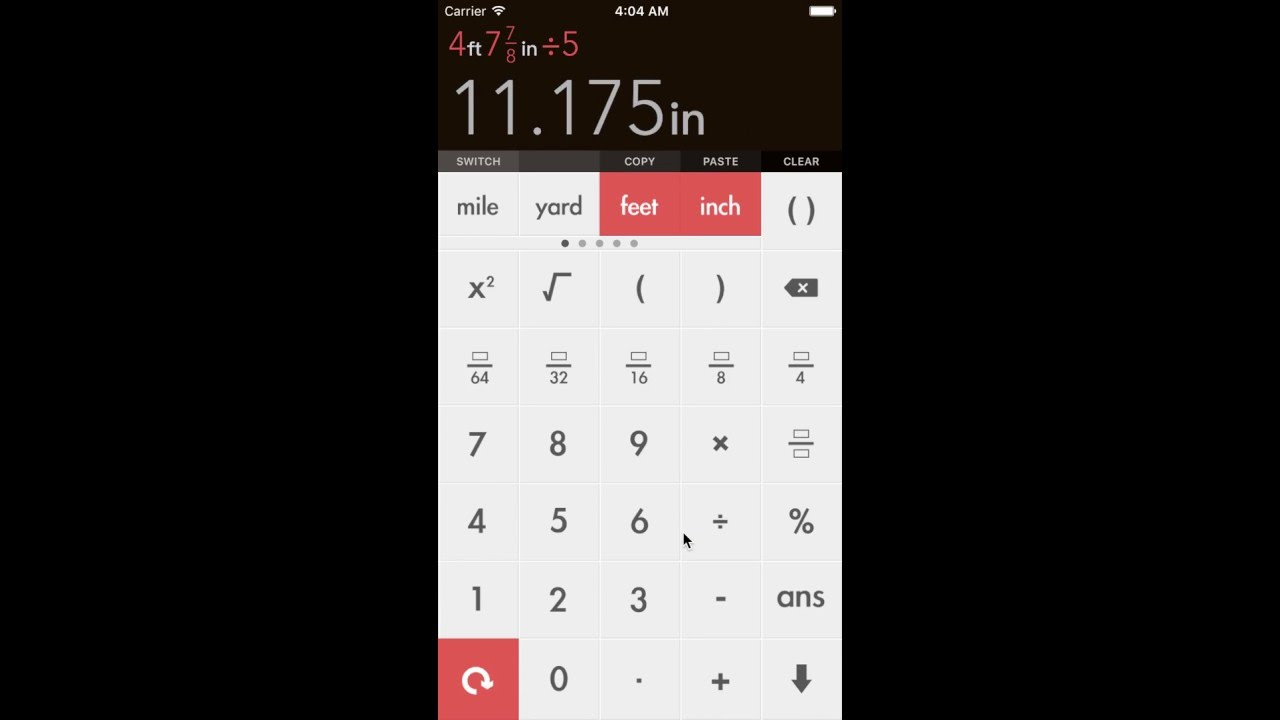 Fraction Calculator by xNeat for iPhone & iPad