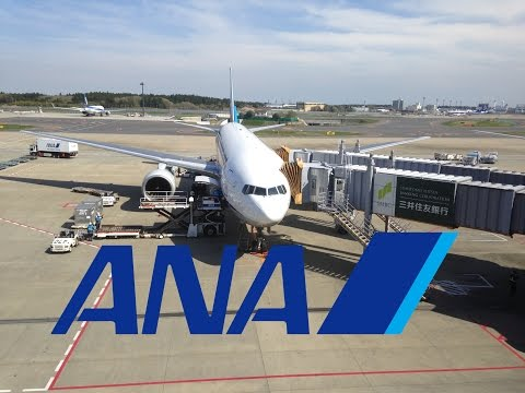 All Nippon Airways NH820 Manila Ninoy Aquino to Tokyo Narita *Full Flight*