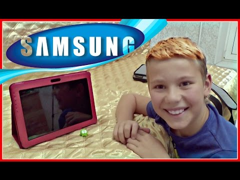РАСПАКОВКА ЧЕХОЛ ПЛАНШЕТ Для Samsung Galaxy Tab 2 10.1 Book Cover review + СЛАДКАЯ ВАТА ГЕЛЕНДЖИК