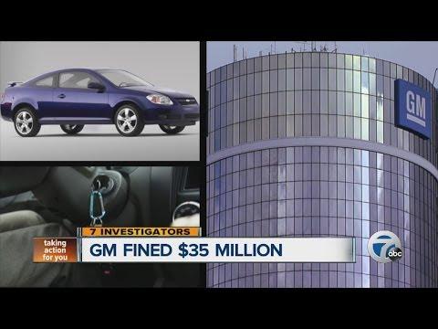 General Motors fined $35 million