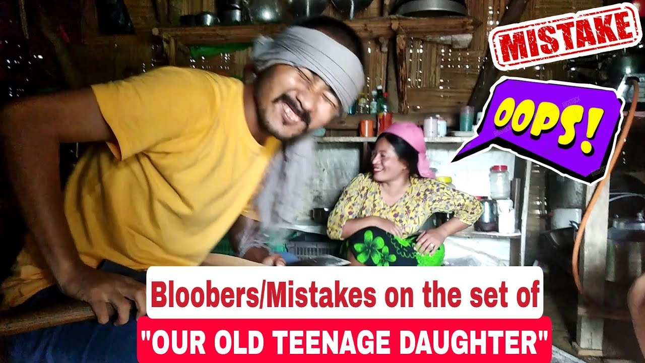 """BLOOBERS / MISTAKES 😝 - On the set of """"OUR OLD TEENAGE DAUGHTER"""""""