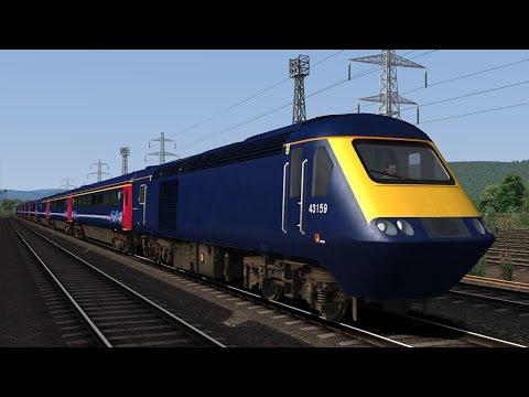 ⁴ᴷ|The South Devon Mainline (GWR) ~ Train Simulator 2017 ~ Class 43 HST