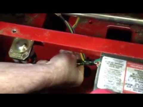 troy built mustang 50'' zero turn (reverse mowing) - youtube