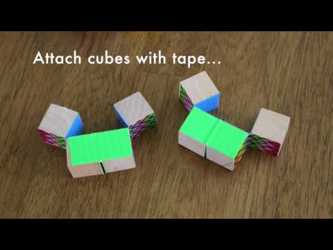 How to Make a Duct Tape Endless Cube - Frugal Fun For Boys