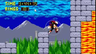 Sonic 1 Megamix (v3.0) - -Dark Fortress  Act 2 - User video