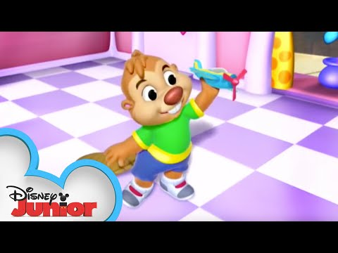 In Plane Sight | Minnie's Bow-Toons | Disney Junior