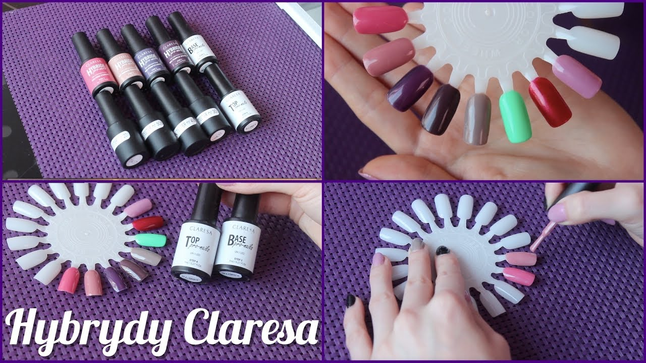 Hybrydy Claresa 8 Kolorow Swatches Na Wzorniku Youtube