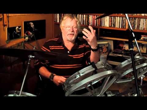 Can Bill Oddie still do a paradiddle on the drums? #AskBillOddie