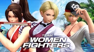 Team Women Fighters | Complete Story Mode Walkthrough - The King of Fighters XIV [English, Full HD]