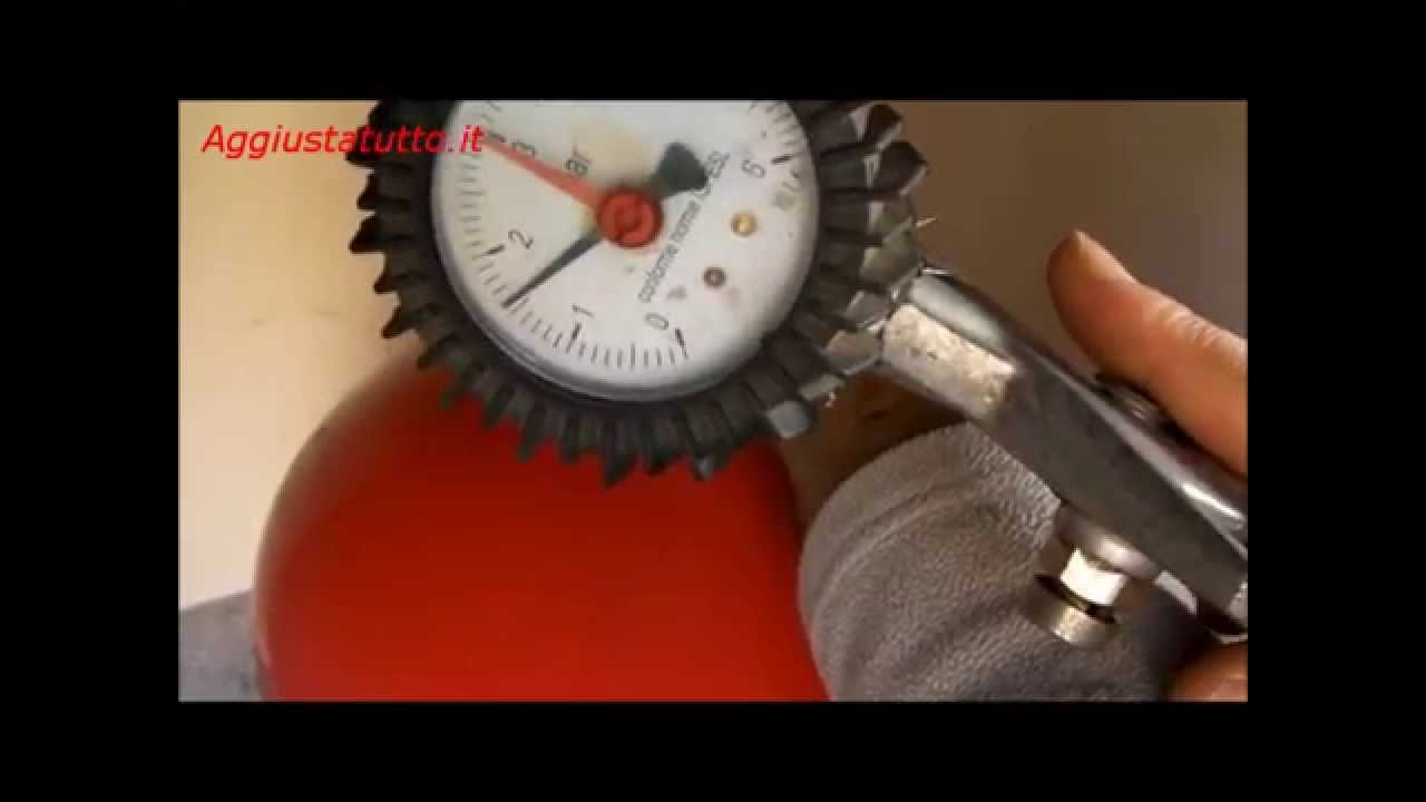 Pressione vaso espansione caldaia for Vaso d espansione