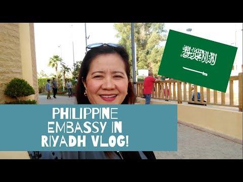 wandering around philippine embassy in riyadh! | #KSAVlogSeries | Auntie Juls (RUH)