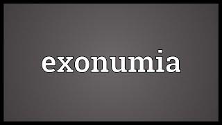 Exonumia Meaning