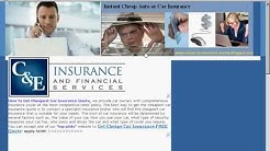 Cheap Car Insurance Quotes Instant Approved