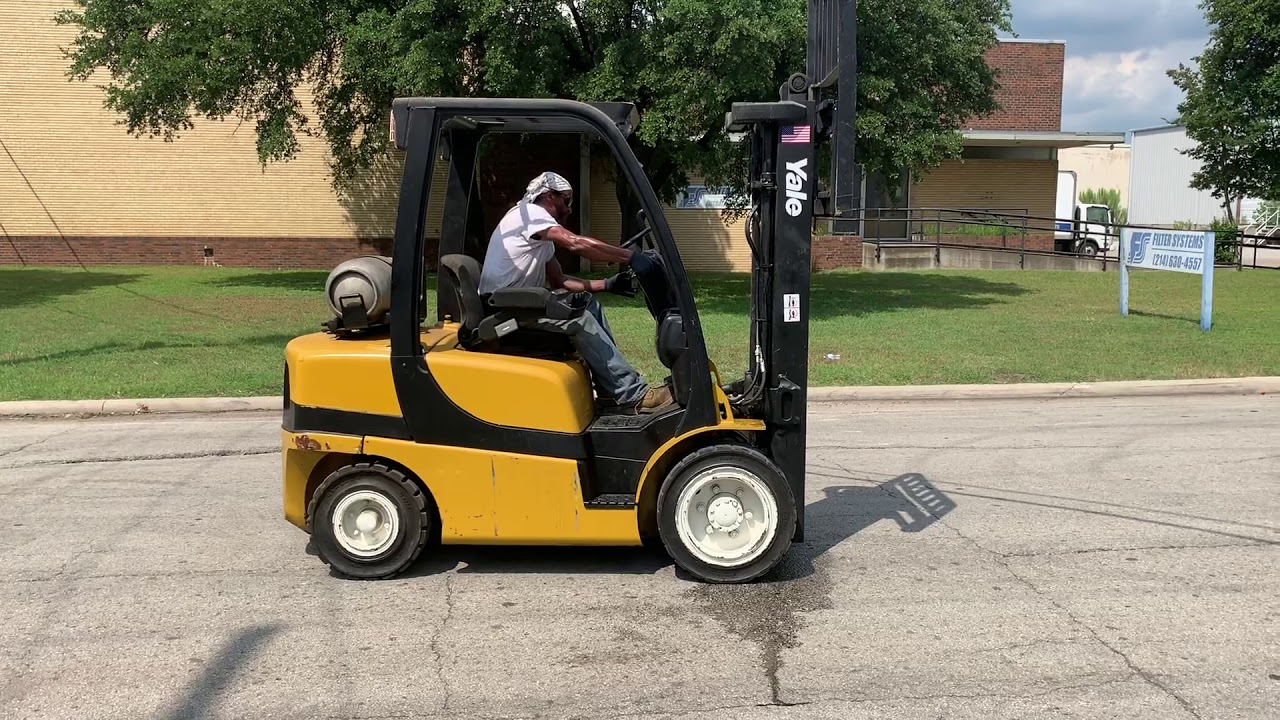 Yale GLP060VX - Used Forklifts Fort Worth - Call 817-380-9377