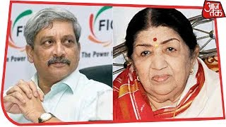 Lata Mangeshkar Remembers Goa Chief Minister Manohar Parrikar   Live Reactions thumbnail