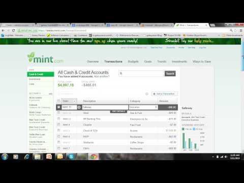 Mint.com-Beginner Tutorial