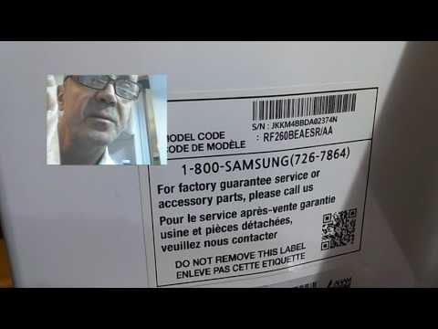 How to reset Samsung fridge RF260BEAESR