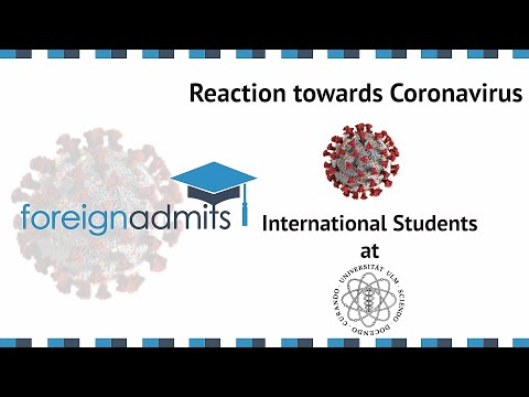 How Covid19 Will Impact on International Student? Ep10-  MS (Ulm University, Germany)