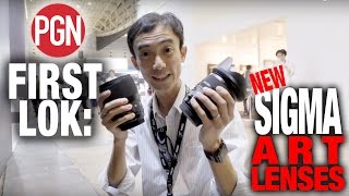 FIRST LOK: New Sigma lenses at CP+ 2017