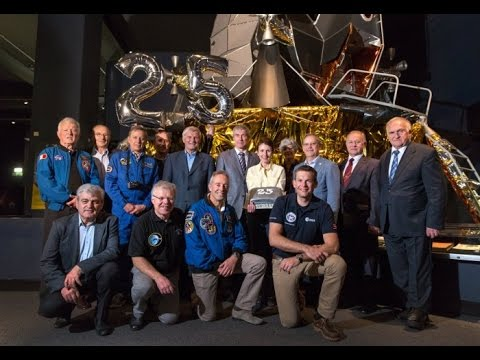 In conversation with Helen Sharman and a galaxy of astronauts