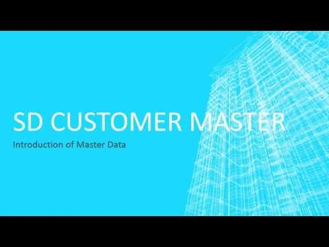 SD Customer Master