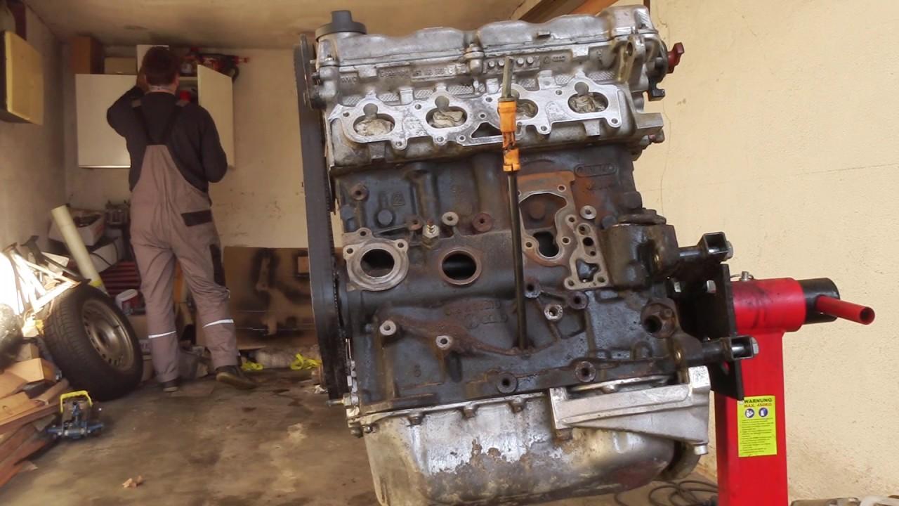 Golf 3 16V Motor reinigen in Zeitraffer (G3C16V) - YouTube