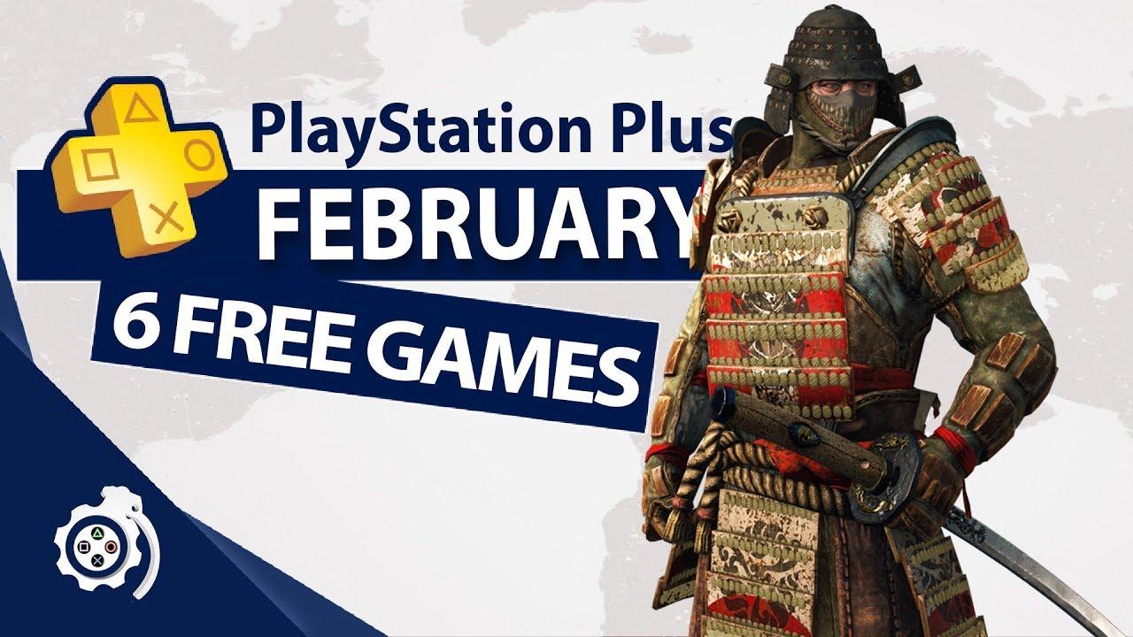 Playstation Plus Februar 2019