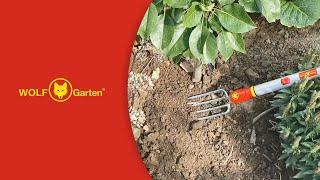 WOLF-Garten LUGM Multi-Change Hand Fork Cultivation Tool Head Red 39.2x2.96x3 cm