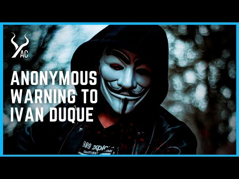 Anonymous Vs Duque: Hackers Fight To End Impunity in Colombia