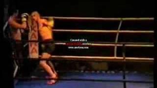 Campeonato Kickboxing Barcelona. Pavón VS Mordillo 2/2