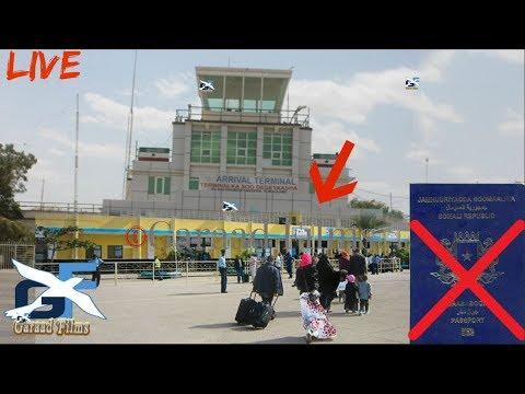 DEG DEG Somaliland o mamnucday Basiboorka somalia tarxiishayna dad Visa la,an aha Daawo