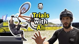 MTB Trials with Ali Clarkson