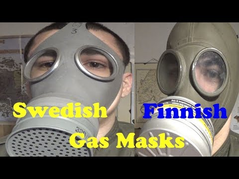 My Scandinavian/Nordic Gas Mask collection