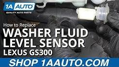 How to Remove Washer Fluid Level Sensor 97-05 Lexus GS300