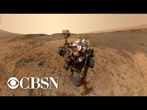 NASA rover detects
