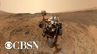 NASA rover detects high amounts of methane on Mars, which could indicate signs of life