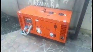 видео Дизельные и бензиновые генераторы Europower.