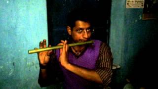 Tu hi ye mujh ko bata de- flute version by @bhi