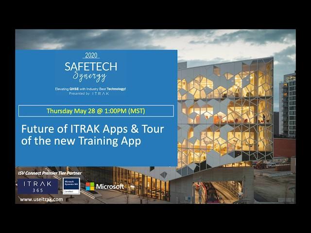 ITRAK Showcase: Future of ITRAK Apps & Tour of the new Training App