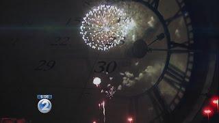Preparations for NYE Waikiki fireworks show