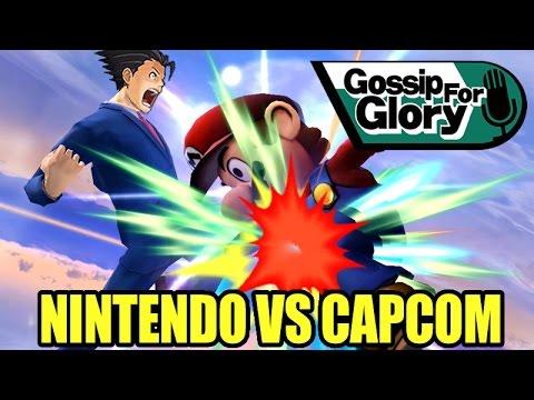 SSB - Gossip for Glory Ep. 19 'NINTENDO VS CAPCOM'