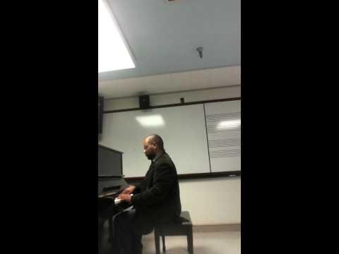 Virtuosic Virtuosity.  Edward Chilungu improvises