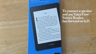Amazon Kindle Paperwhite 10th Generation - Setup and Use from Start to Finish - Very Nice!