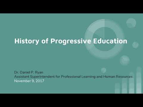 Progressive Education in The Winnetka Public Schools